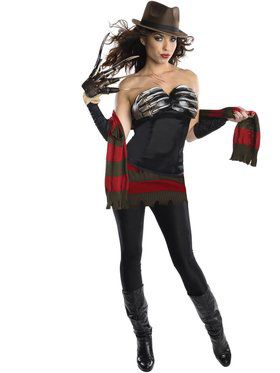 Womens Sexy Freddy Corset Costume