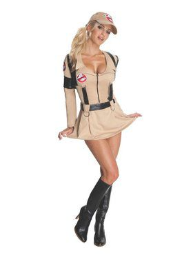 Sexy Ghostbusters Women's Costume