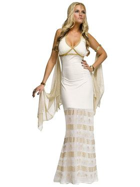Women's Sexy Golden Goddess Costume