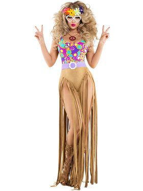 Women's Sexy Hippy Chick Costume