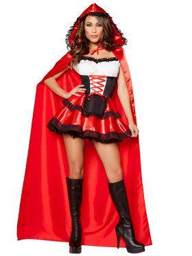 Women's Sexy Little Red Rider Costume