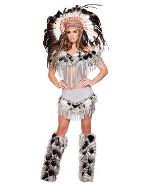 Women's Sexy Lusty Indian Maiden Costume