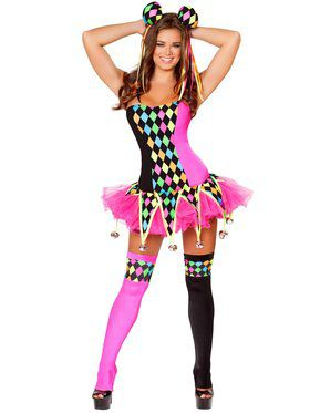 Womens Sexy Lusty Laughter Costume