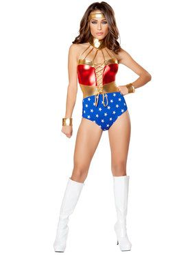 Merciful Sexy Superhero Hottie Womens Costume