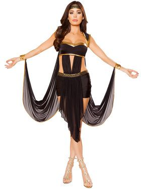 Women's Sexy Midnight Goddess Costume