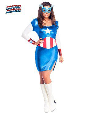 Womens Sexy Miss American Dream Costume