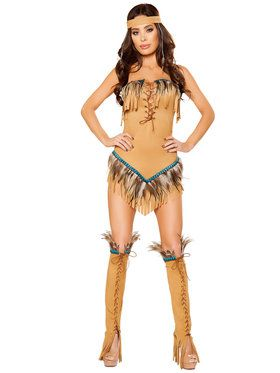 Women's Sexy Native American Seductress Costume