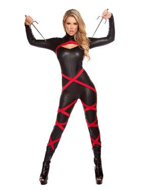 Women's Sexy Naughty Ninja Costume