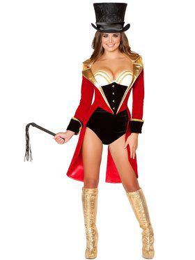 Womens Sexy Naughty Ringleader Costume