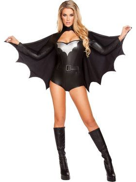 Women's Sexy Night Vigilante Costume