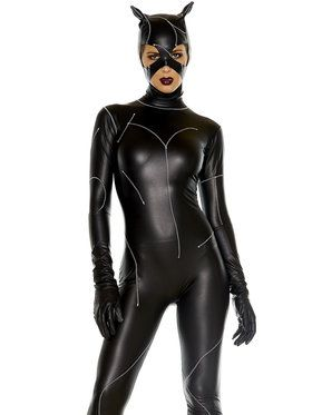 Women's Sexy On The Prowl Catsuit Costum