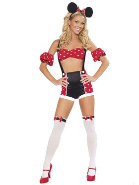 Womens Sexy Pinup Mouse Costume