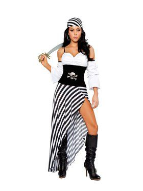 Sexy Pirate Lass Womens Costume