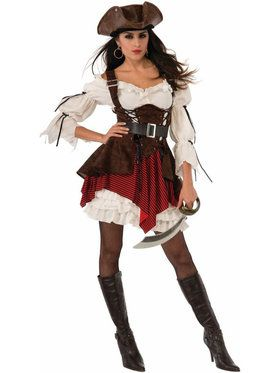 Women's Sexy Pirate Penny Costume