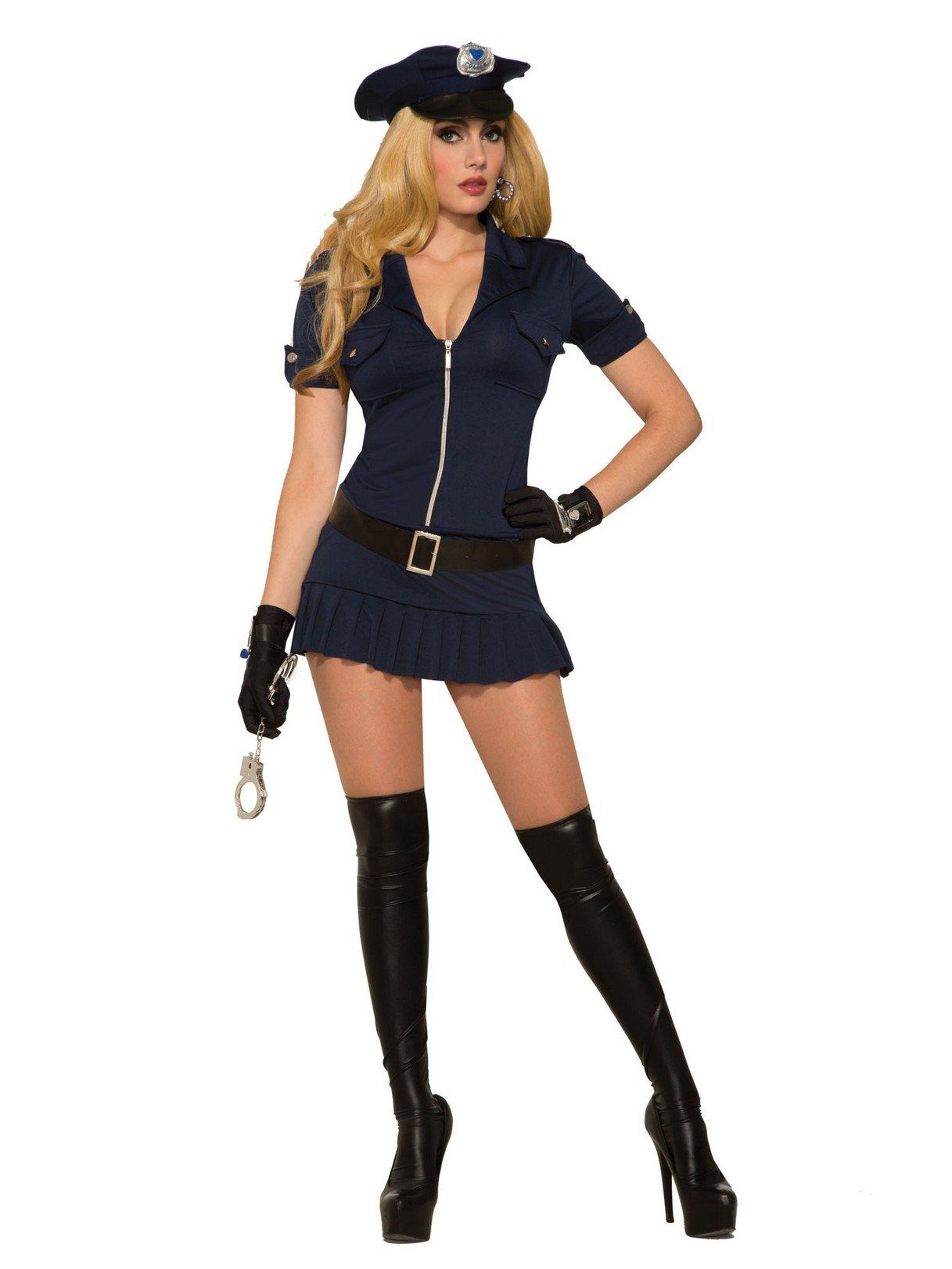 Sexy Police Costume For Women - Women 2018 Halloween -4937