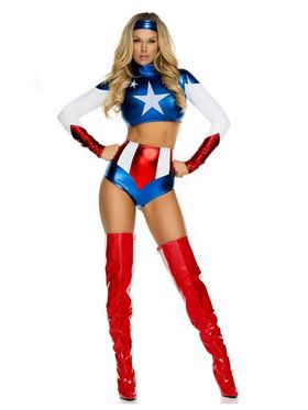 Women's Sexy Pretty Patriot Costume