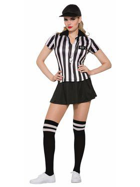 Womens Sexy Referee Costume