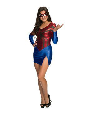 Womens Sexy Spider-girl Costume