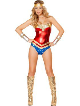 Womens Sexy Superhero Hottie Costume
