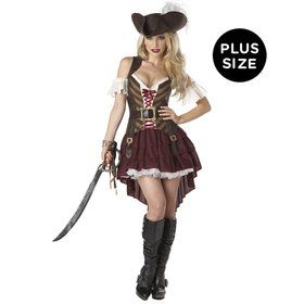 Womens Sexy Swashbuckler Pirate Costume