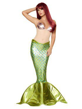Underwater Beauty Deluxe Mermaid Costume