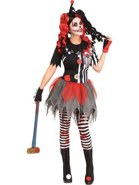 Womens Sinister Circus Costume