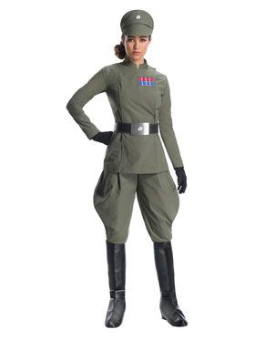 Womens Star Wars Imperial Officer Costume