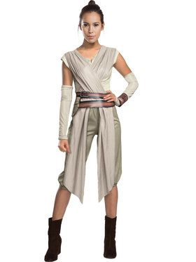 Deluxe Rey Women's Star Wars Costume