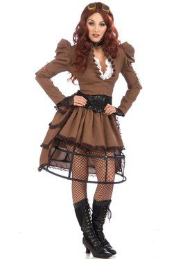 Steampunk Costume for Women