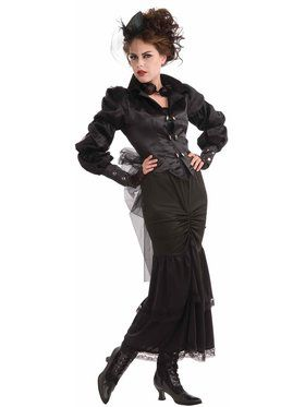 Steampunk Victorian Lady Costume for Women