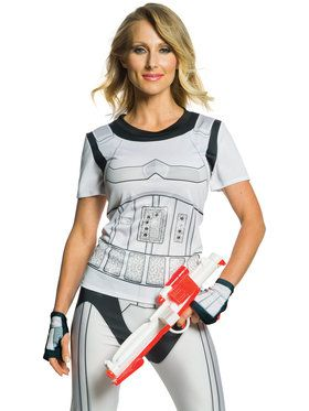 Women's Stormtrooper Rhinestone Top