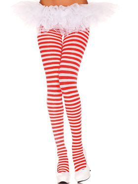 Womans Striped Tights