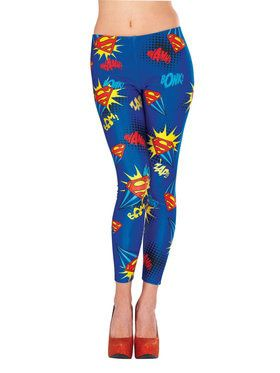 Supergirl Leggings For Women