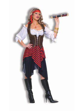 Women's Sweet Buccaneer Pirate Costume