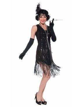 Womens Swinging In Sequins Costume  sc 1 st  BuyCostumes.com : roaring twenties costumes ideas  - Germanpascual.Com