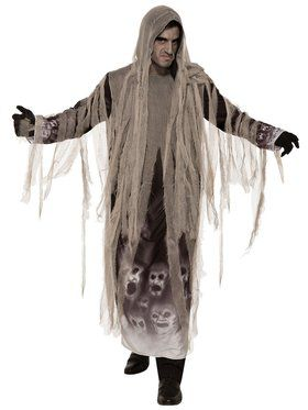 Tattered Ghoul Costume for Adults