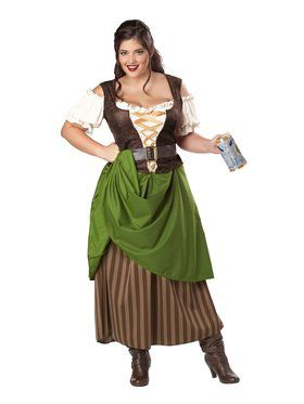Womens Tavern Maiden Adult Plus Costume