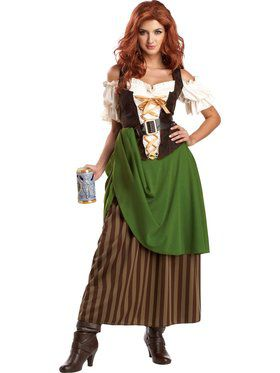 Tavern Maiden Womens Costume