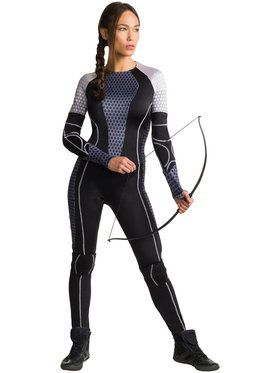 The Hunger Games Catching Fire Katniss Costume for Adults