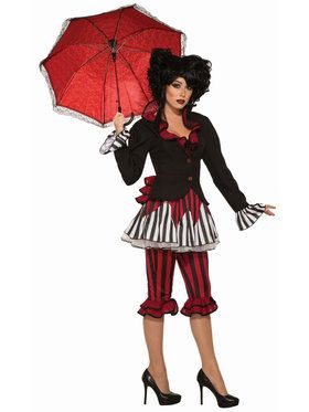 Womens Tight Rope Temptress Costume