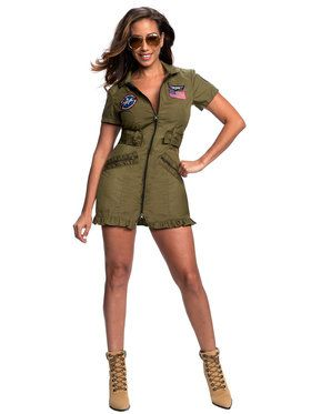 Women's Sexy Tom Cat Pilot Costume