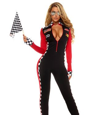 Women's Top Speed Sexy Racer Costume