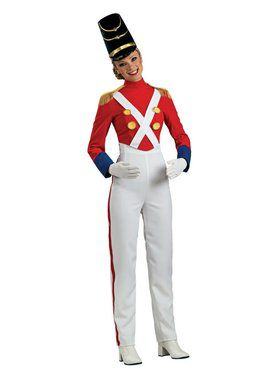 Women's Toy Soldier Adult Costume