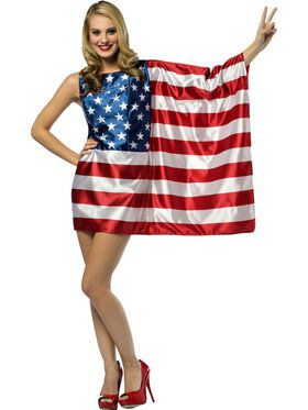 Women's Usa Flag Dress