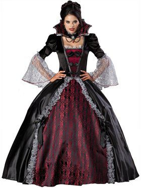womens vampiress of versailles costume