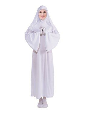Womens White Nun Costume