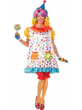 Wiggles the Clown Costume for Women