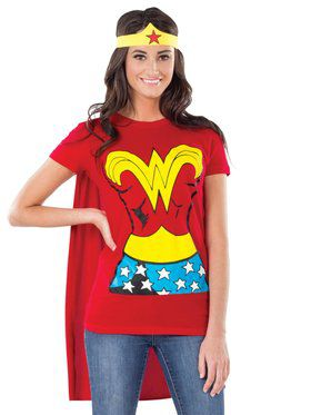 Wonder Woman Costume Kit for Women