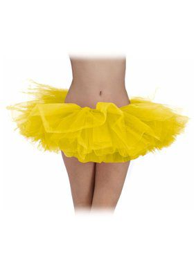 Yellow Adult Tutu