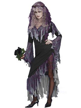 Zombie Bride Womens Costume